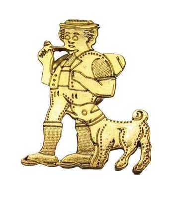 Herdsman and Dog Pin
