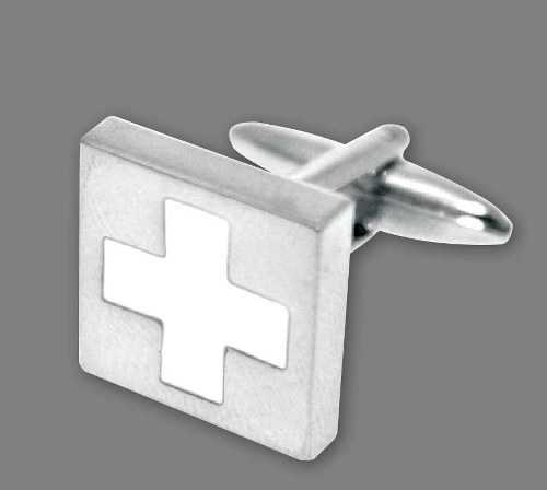Swiss Cross Cuff Links