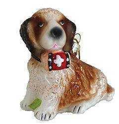 St. Bernard Puppy Ornament