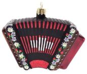 Swiss Accordion Christmas Ornament