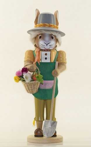 Easter Bunny German Nutcracker - Mr. Gardener