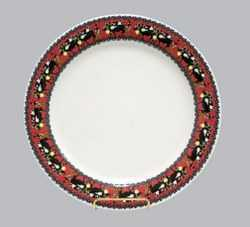 Poya Pattern - Lunch/Dinner Plate