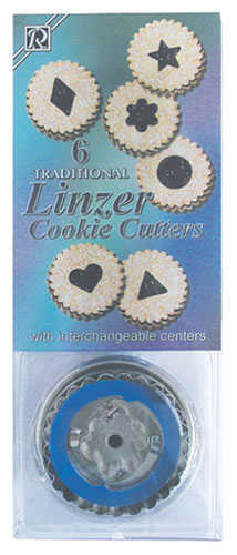 Linzer Cookie Cutter - Traditional