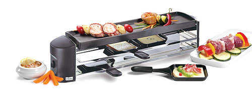 Stockli 4-Pan Raclette Grill