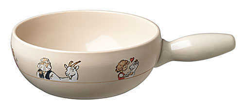 Beige Heidi Cheese Fondue Pot