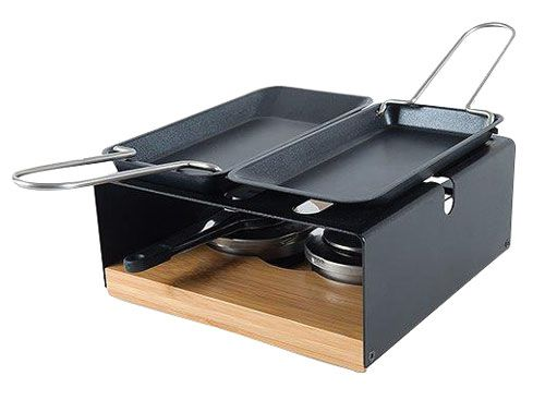 Multifun Burner with Raclette Pans