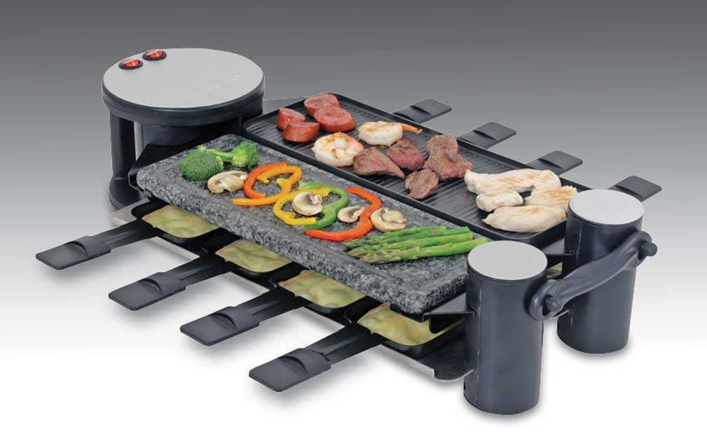 Swivel Party Raclette Grill