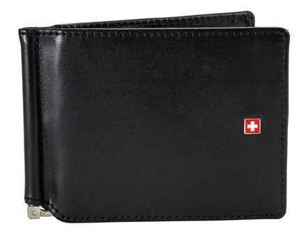 Swiss Military Leather Money Clip
