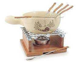 The Cabin Cheese Fondue Set