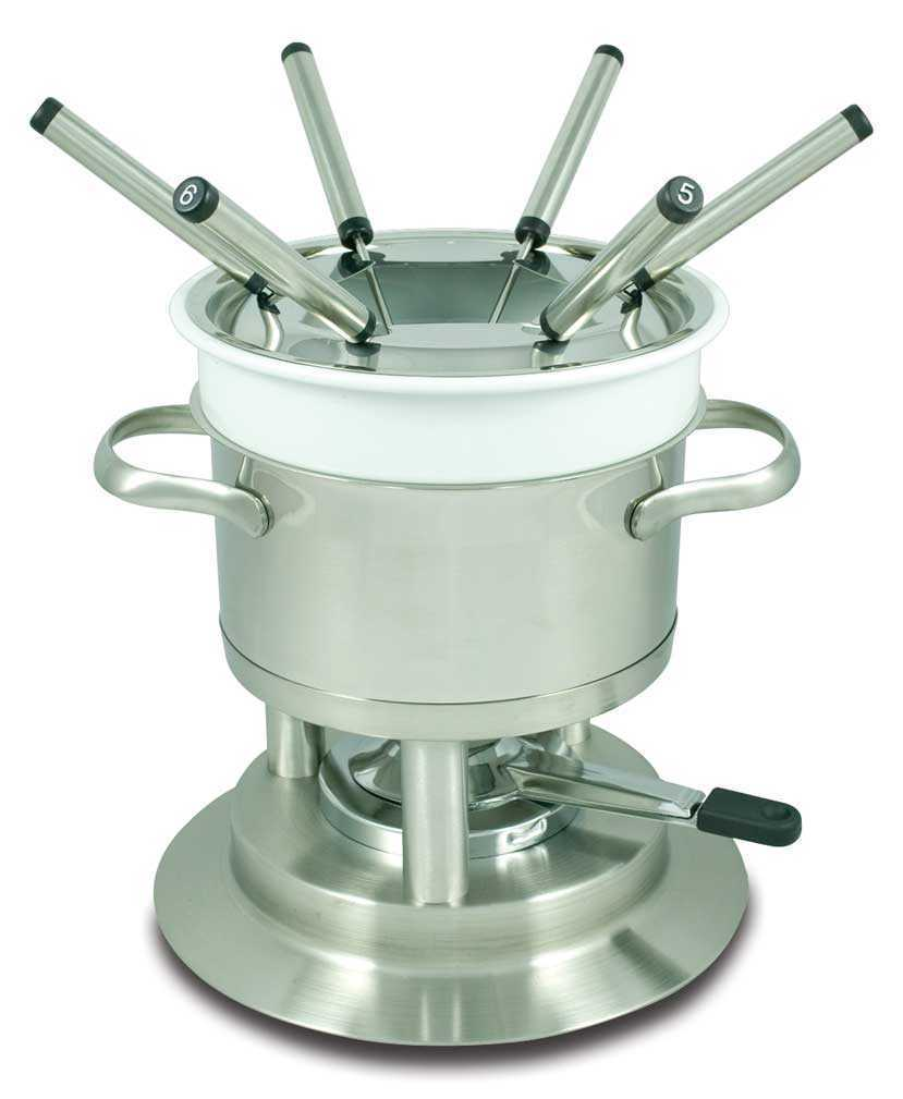 Fondue Set - Stainless Steel
