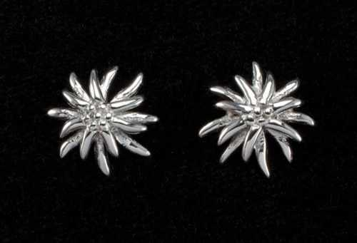 Edelweiss Earrings - Sterling Silver