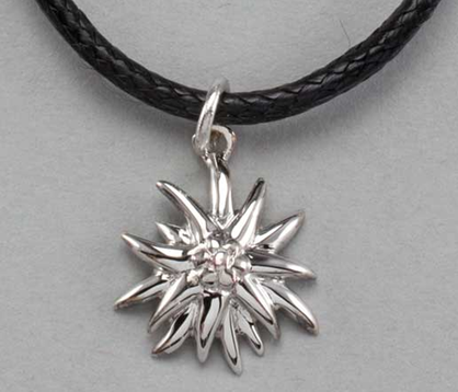 "Edelweiss Necklace with Serling Silver ""Edelweiss"" Pendant"