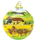 Appenzell Scene Christmas Ball Ornament