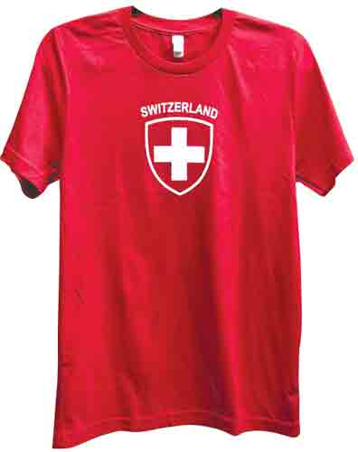 Short Sleeve Swiss Shield T-Shirt