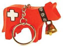 Red Cow Key Chain