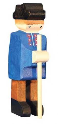 Carved Wooden Farmer