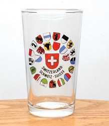 All Canton Shields Wine Glass