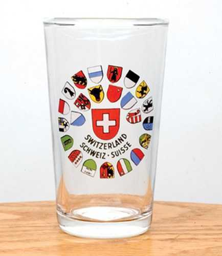 All Canton Shields White Wine Glass