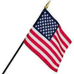 USA Small Flag on Stick
